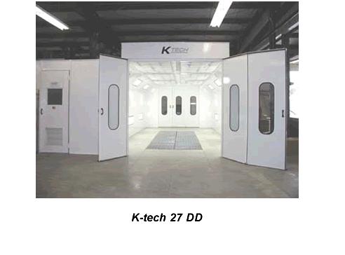 Buy KTech 27 DD Down Draft Spray Booth