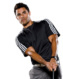Buy A72 adidas Golf Men's ClimaLite® 3-Stripes T-Shirt