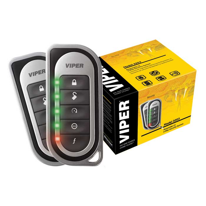 Buy Viper 3203 Responder LE SuperCode 2-Way Security System