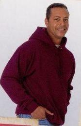 Buy White Hanes Comfort Blend Hooded Sweatshirt