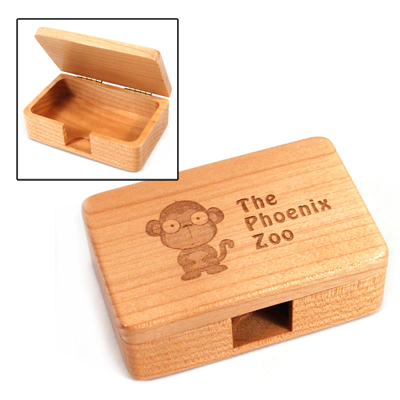 Buy Maple Business Card Box