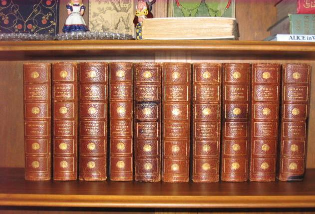 Buy Butler, Effinger, Carroll, James, Larus, Brittan, Schoenfeld, Thieme, Pollard: Woman in All Ages and All Countries- 10 Volumes
