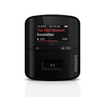 Buy GoGEAR Raga 2GB* MP3 player FullSound™