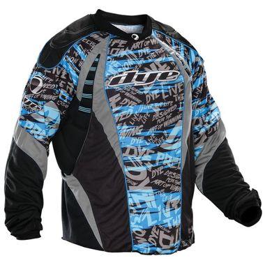 Buy Dye 2012 Paintball Jersey - Blue Tiger