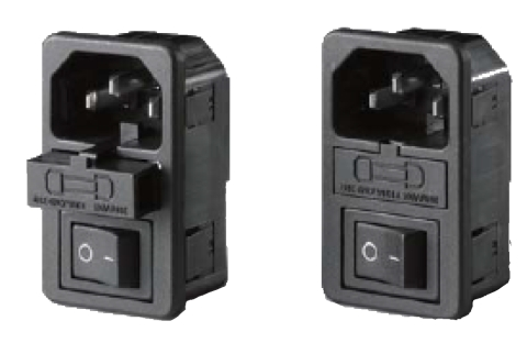 Buy EC320-C14 AC Power Inlet, Fuse Holder With Rocker Switch