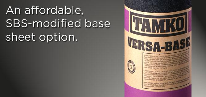 Buy Versa-Base SBS-modified fiberglass product