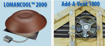 Buy Lomanco® Standard Power Vents