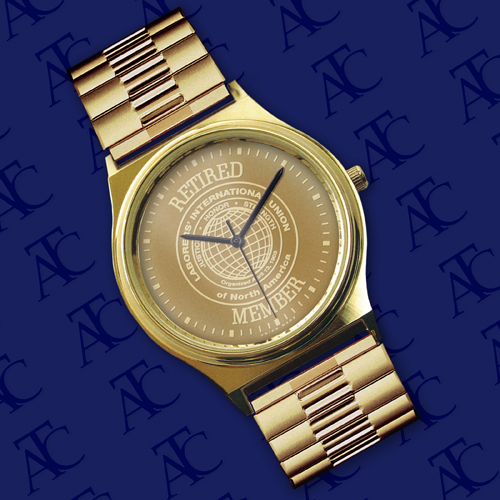 Buy LABORERS Retired Member Medallion Watch