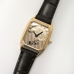 Buy Ladies Rectangle Eagle Watch