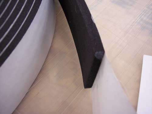 "Buy Weatherstripping 1/16"" Thick Closed Cell (foam / sponge) rubber"