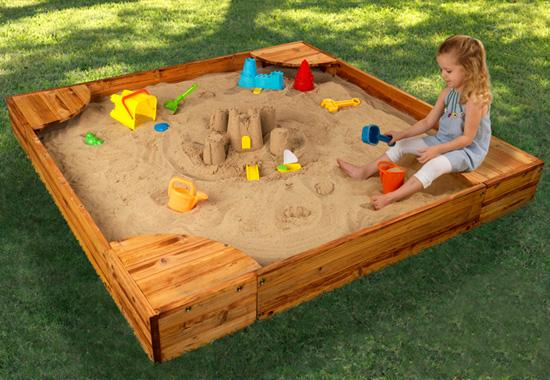 Красивые песочницы для детей своими руками