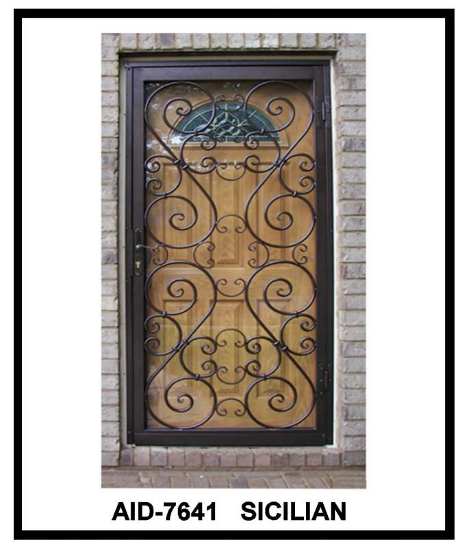 Buy Foyer Gates from Action Ornamental Iron Works