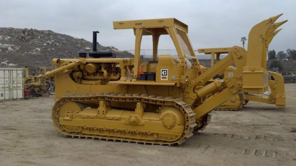 Crawler Dozer Cat D8K 77V6712 buy in Houston