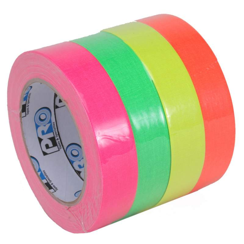 "Buy Starter Spike Stack, 4 Fluorescent Colors 1""X20yds"