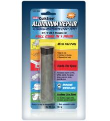 QuikSteel Aluminum Reinforced Epoxy Putty
