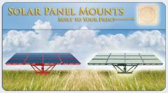 Solar Panel Mounts Built to Your Print