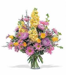 Yellow & Lavender Delight Bouquet STF15-2