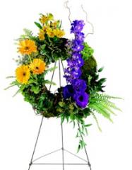 Mixed Flower Wreath FS203-3