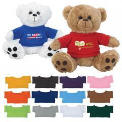 Plush Big Paw Bear With Shirt