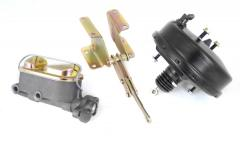 Power Brake Booster Kit, With Master Cylinder (For