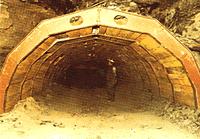 Underground Roof Support Arches