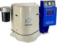 Quincy QSV Direct-Drive Rotary Screw Vacuum Pump