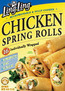 Rolls with meat