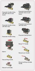 Gemini Valve 82 Series tube compression valves