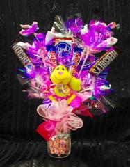 Blooming Pink Candy Arrangement