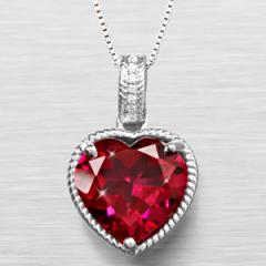 Joyful Heart Created Ruby & Created White