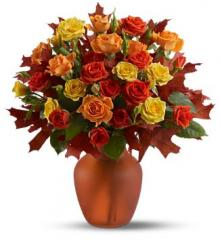 Amber Roses Bouquet