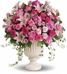 Passionate Pink Garden Arrangement