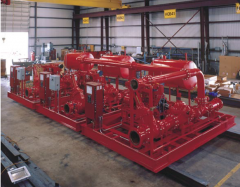 Power Plant Fire Pump System