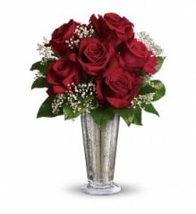 Teleflora's Kiss of the Rose Bouquet T65-3A