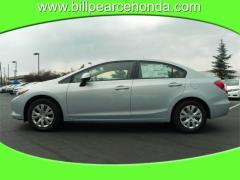 2012 Honda Civic LX 4D Sedan Car