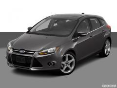 Ford Focus Titanium Hatchback Car