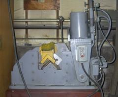 Single Angle Hydraulic Shear