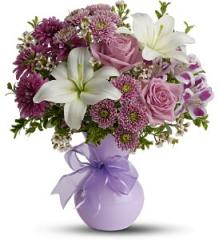 Teleflora's Precious in Purple Bouquet