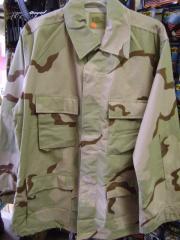 BDU Shirts,  3-Color Desert