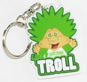 Lucky Troll Character Key Chain