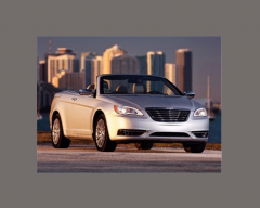 2013 Chrysler 200 Touring Convertible Vehicle