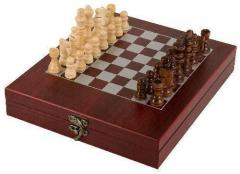 Rosewood Finish Chess Set Gift Game Gifts