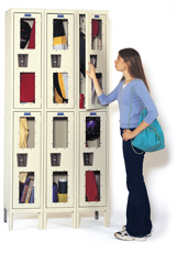 Safety-View Windowed KD Lockers