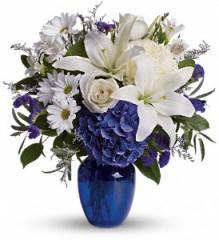 Beautiful in Blue Bouquet T209-3A