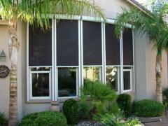 Retractable Solar Screens