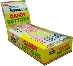 Candy House Candy Buttons