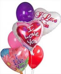 Steve's I Love You Balloon Bouquet ILYMB