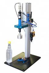 Semi-Automatic Capping Machines - Chuck Capper