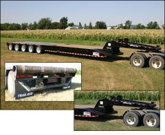 TE120-OF59 (5 Axle) Oil Field Lowboy Trailer