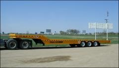 TE100HT (DHT100) Heavy Duty Hydraulic Tail Trailer